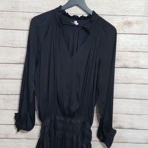 Current Air pleated drop waist mini dress